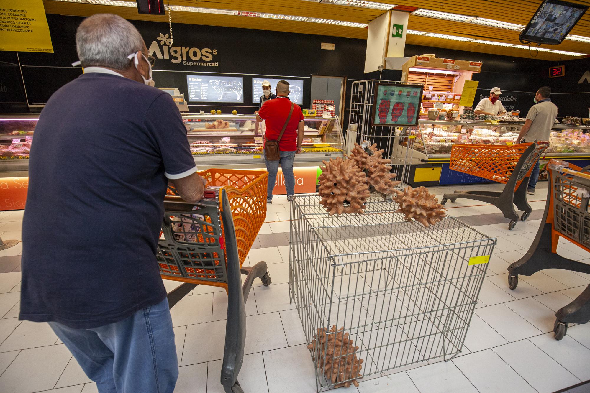 1- 10cents- Art At The Supermarket by Giuseppina Giordano -Zero Edition, Mazara del Vallo- ph Benito Frazzetta
