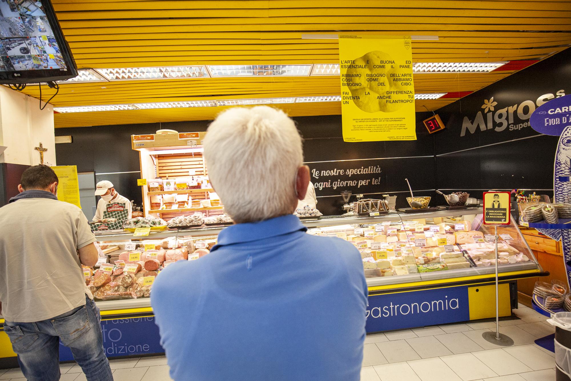 16- 10cents- Art At The Supermarket by Giuseppina Giordano -Zero Edition, Mazara del Vallo- ph Benito Frazzetta