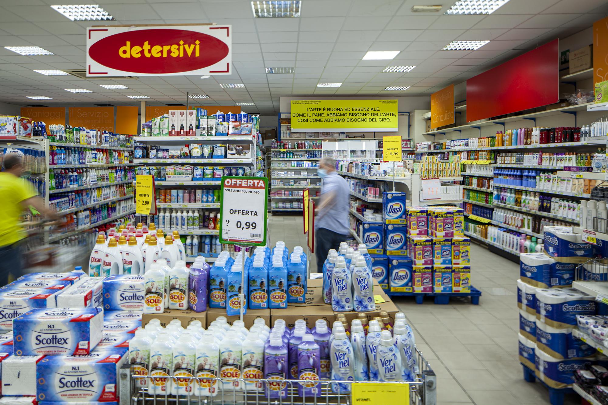 17- 10cents - Art At The Supermarket by Giuseppina Giordano -Zero Edition, Mazara del Vallo ph Benito Frazzetta