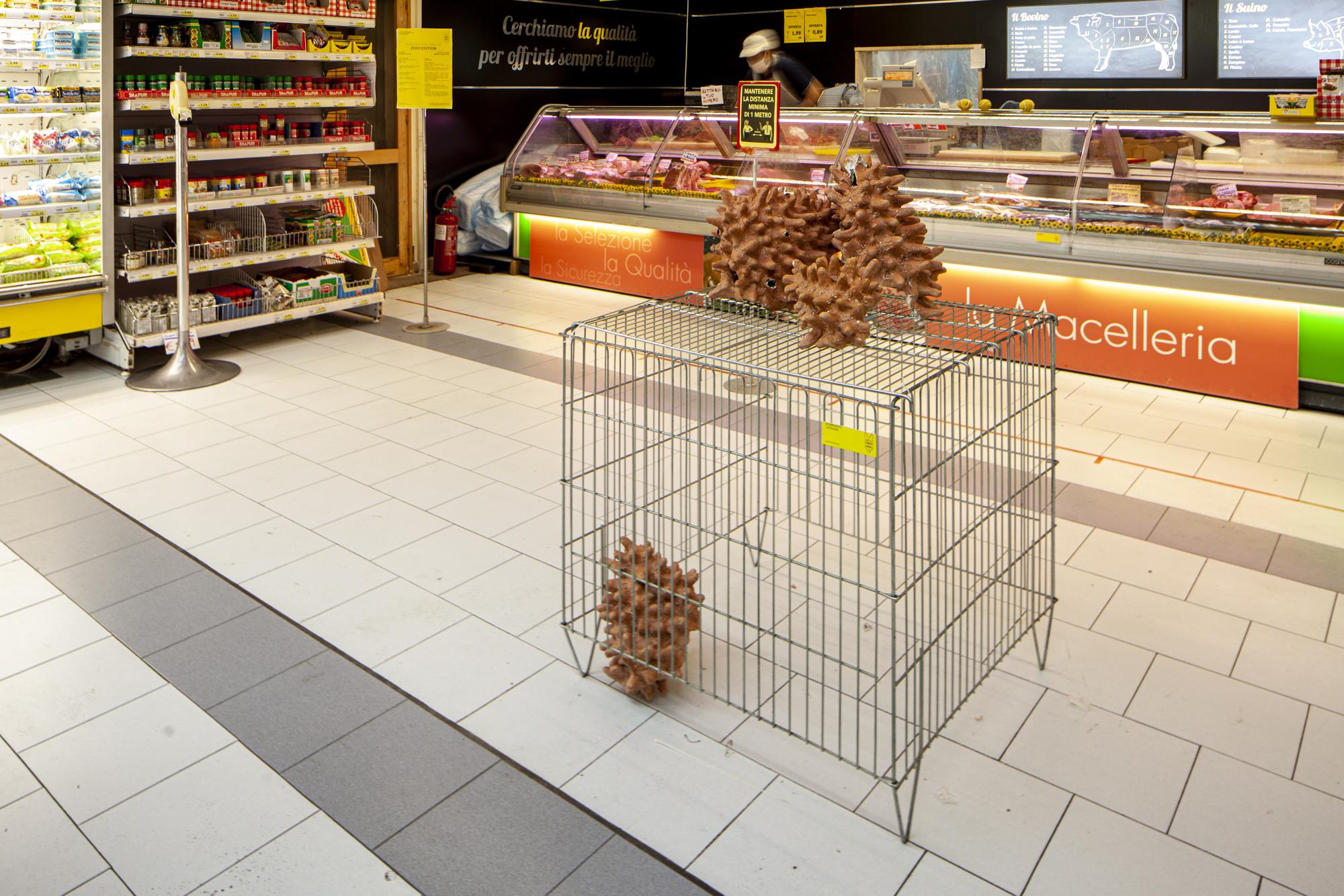 5- Domenico Laterza, Secondo le mie indicazioni- 10cents- Art At The Supermarket by Giuseppina Giordano- Zero Edition, Mazara del Vallo- ph Benito Frazzetta